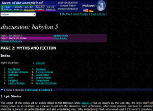 Discussion: Babylon 5