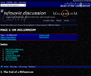 Discussion: Millennium